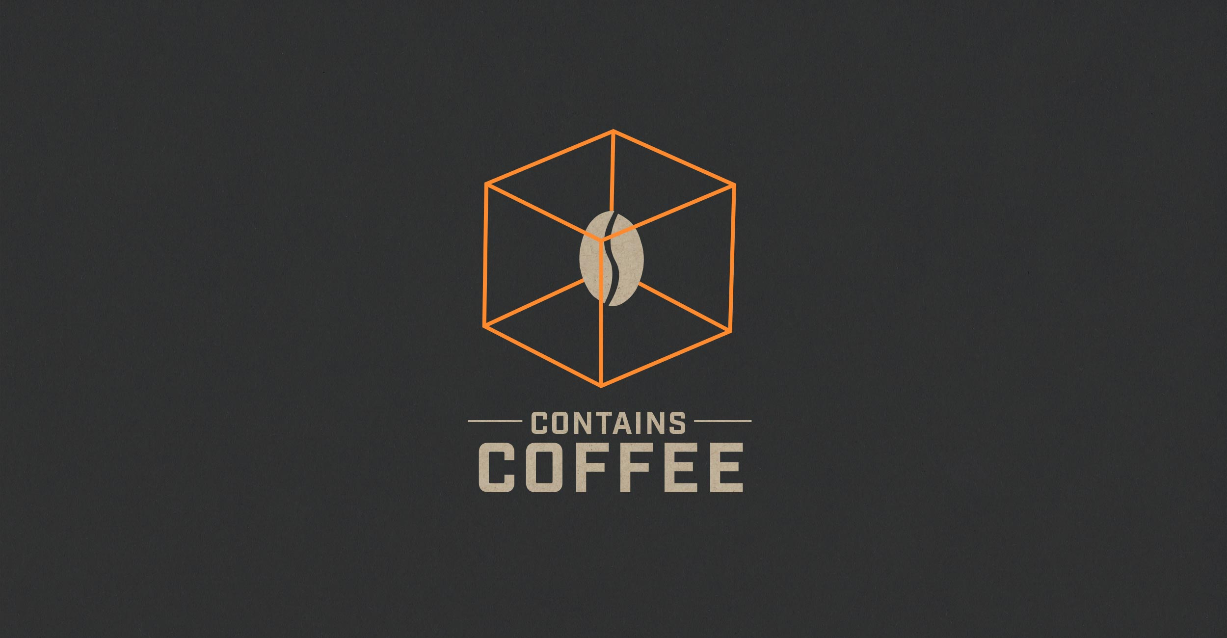 Logo Contains Coffee