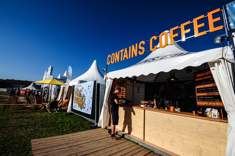 Mobile Espressobar am Chiemsee Summer Festival