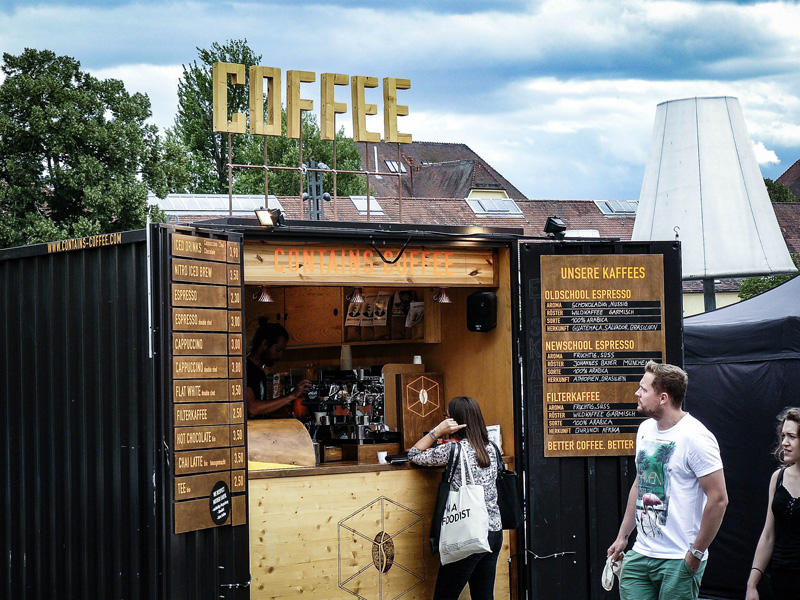 Contains-Coffee bei der Foodist Stuttgart
