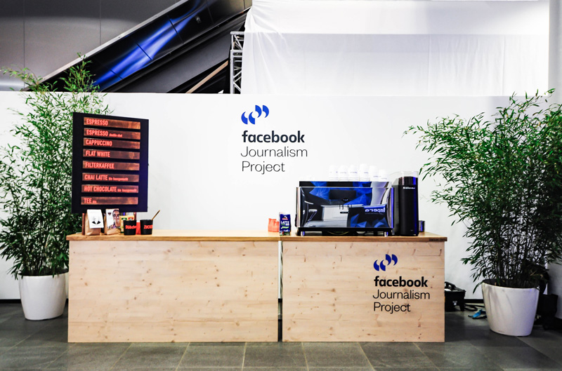 Messecatering bei Facebook